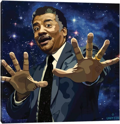 Neil deGrasse Tyson Canvas Art Print