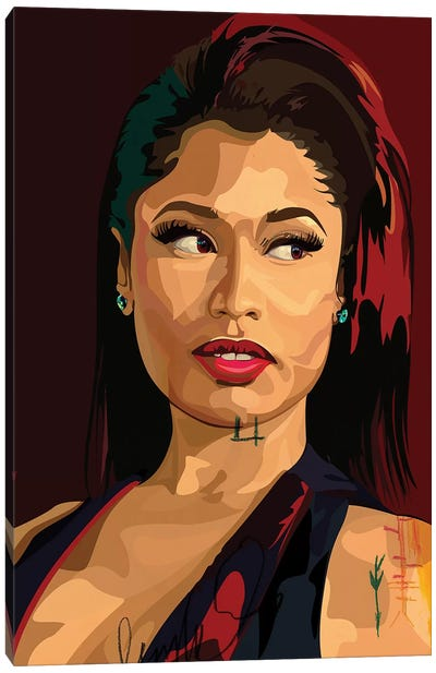 Nikki Minaj Canvas Art Print