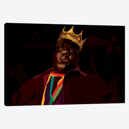 Biggie Canvas Print #DCA6} by Dai Chris Art Canvas Art Print