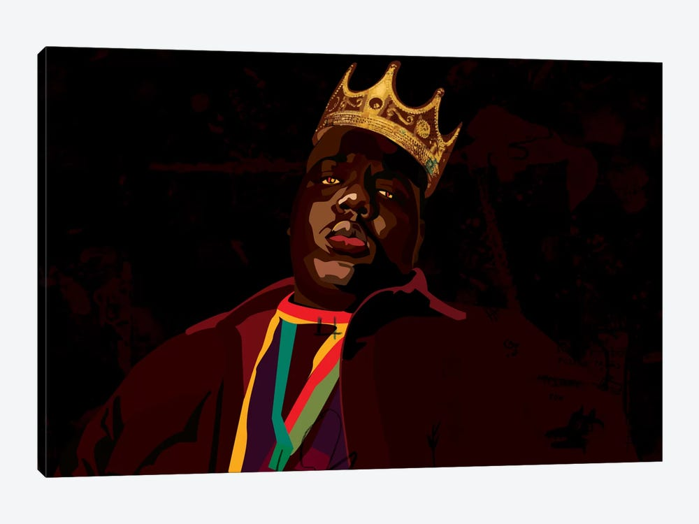 Biggie by Dai Chris Art 1-piece Canvas Art