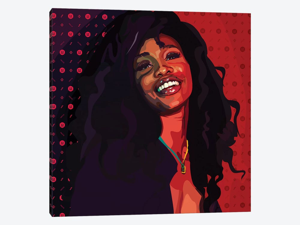 SZA by Dai Chris Art 1-piece Canvas Art