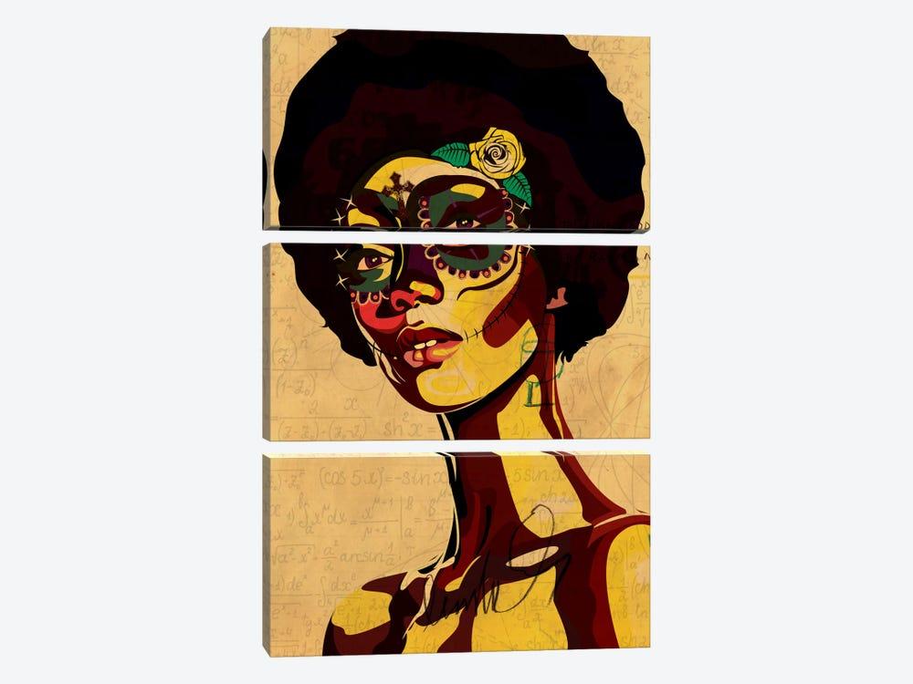 Dia de los Muertos by Dai Chris Art 3-piece Canvas Wall Art