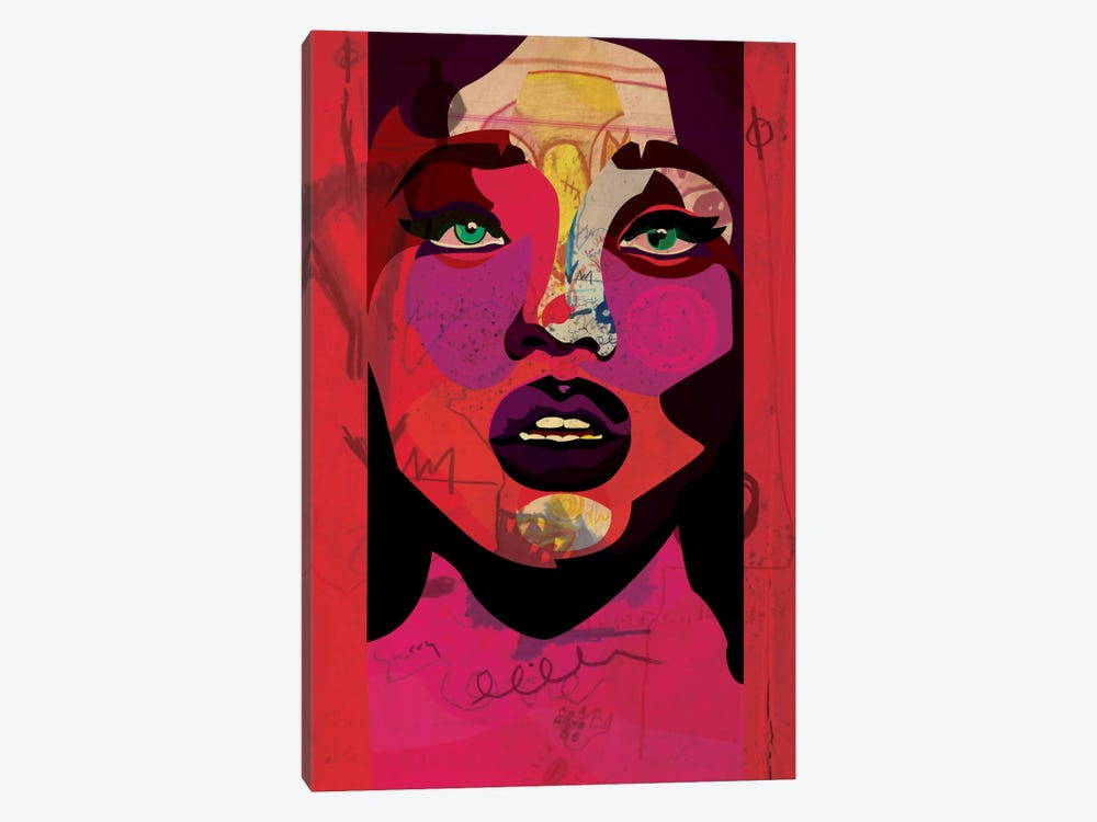 Freckled Beauty by Dai Chris Art 1-piece Canvas Print
