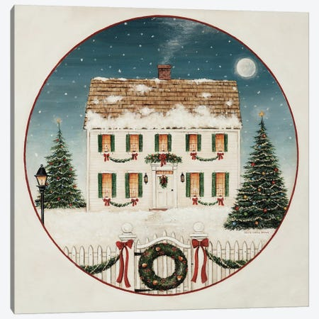 Merry Lil House Canvas Print #DCB3} by David Carter Brown Canvas Print