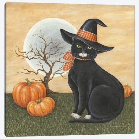 Pretty Kitty Canvas Print #DCB7} by David Carter Brown Canvas Wall Art