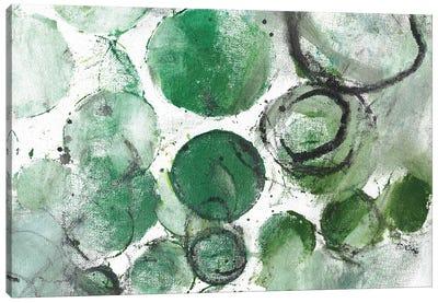 Alex Calder Green II Canvas Art Print