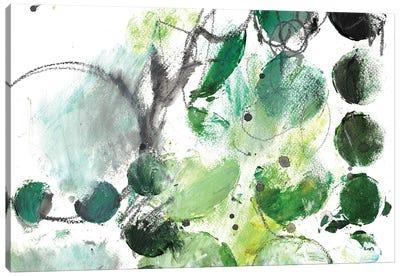 Alex Calder Green I Canvas Art Print