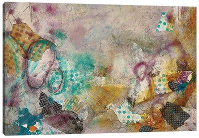 Bits And Pieces Canvas Art Print