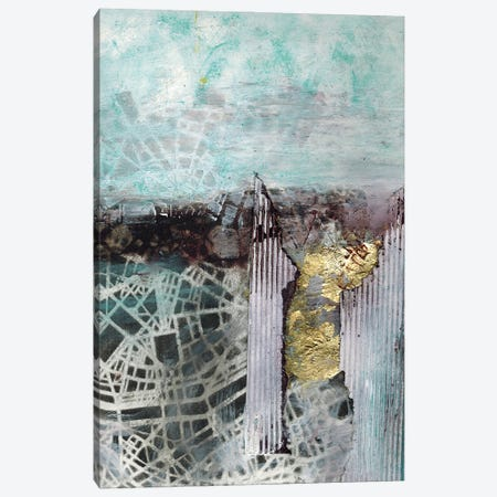 Digging Down Into The City Canvas Print #DCH20} by Deb Chaney Canvas Print
