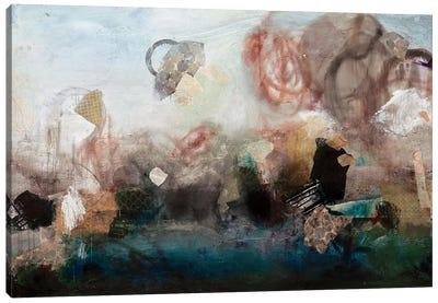 Embrace The Mess Canvas Art Print