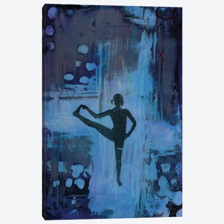 I Keep My Balance Canvas Print #DCH29} by Deb Chaney Art Print