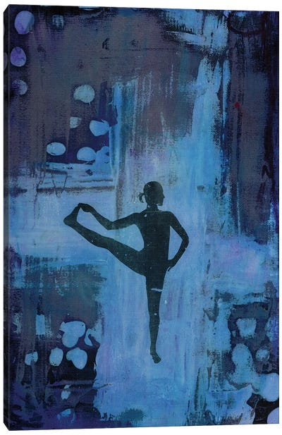 I Keep My Balance Canvas Art Print