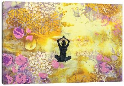 I Remember To Meditate Canvas Art Print