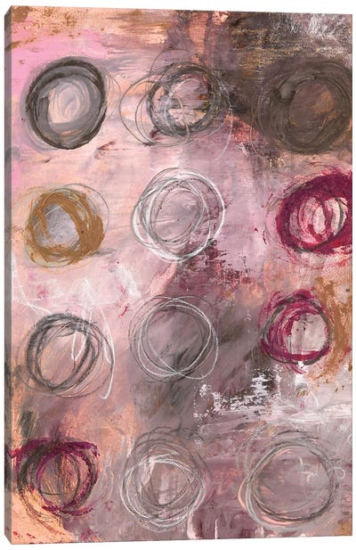 Sister Circles (Little Gem Cicles) Canvas Art Print