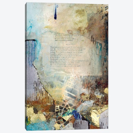 The Lost Poem Canvas Print #DCH67} by Deb Chaney Canvas Wall Art