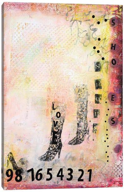 We Love Shoes I Canvas Art Print