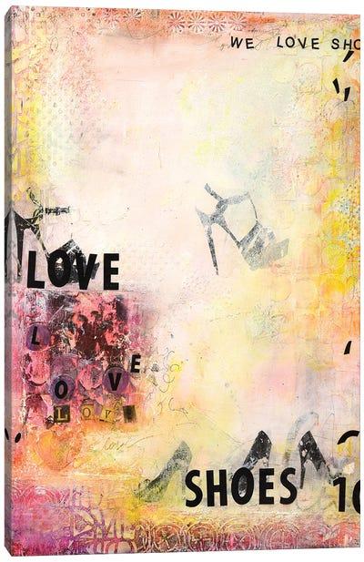We Love Shoes II Canvas Art Print