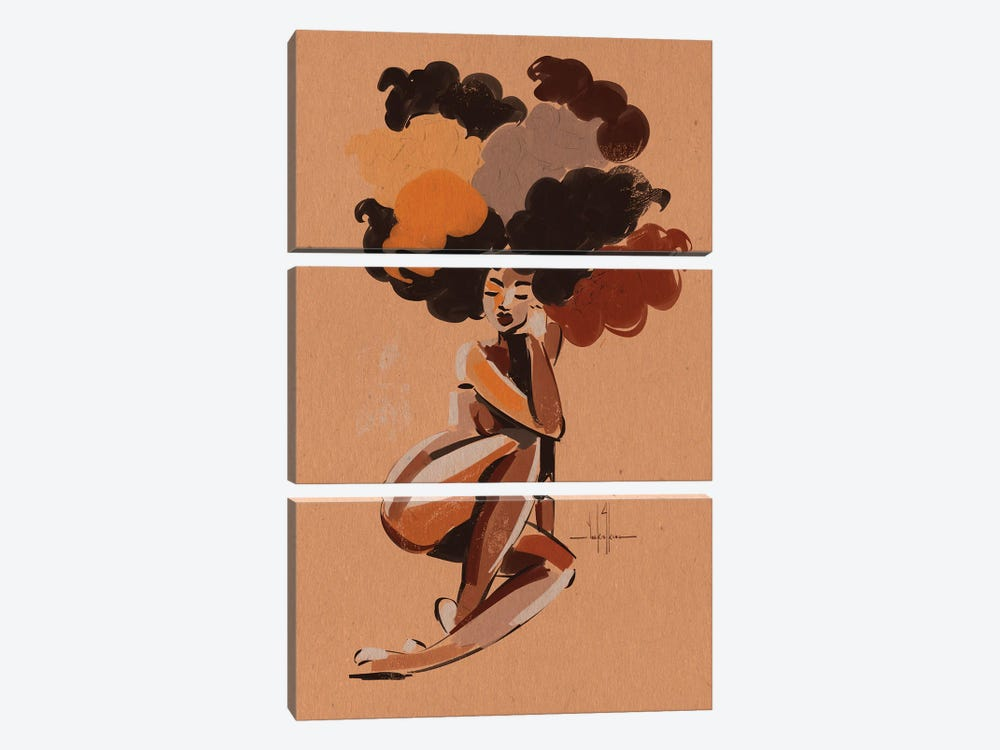Find Your Way by David Coleman Jr. 3-piece Art Print