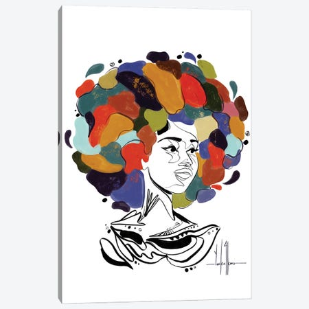 Aphroria Canvas Print #DCJ3} by David Coleman Jr. Art Print