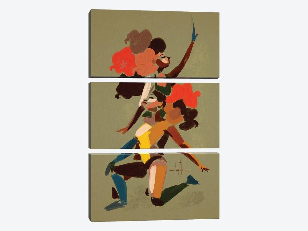 Define Your Goals by David Coleman Jr. 3-piece Art Print