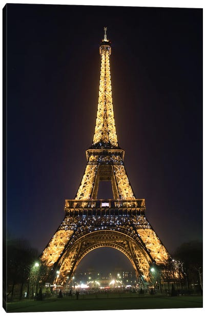 Eiffel Tower V Canvas Art Print