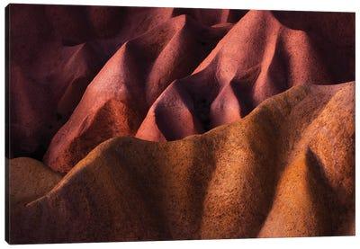 Desert Patterns Cappadocia Canvas Art Print