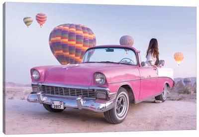 Classic Car Cappadocia II Canvas Art Print