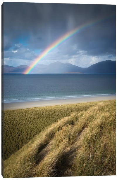 Luskentyre Rainbow II Canvas Art Print