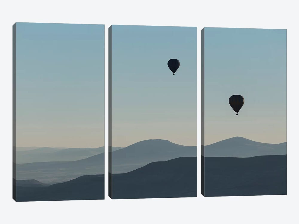 Cappadocia Balloon Ride XXXIV by David Clapp 3-piece Canvas Art