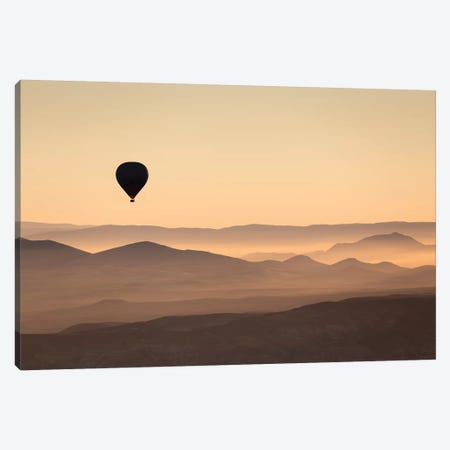 Cappadocia Balloon Ride XLII Canvas Print #DCL13} by David Clapp Photography Limited Canvas Wall Art