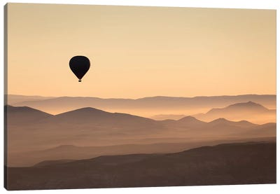 Cappadocia Balloon Ride XLII Canvas Art Print