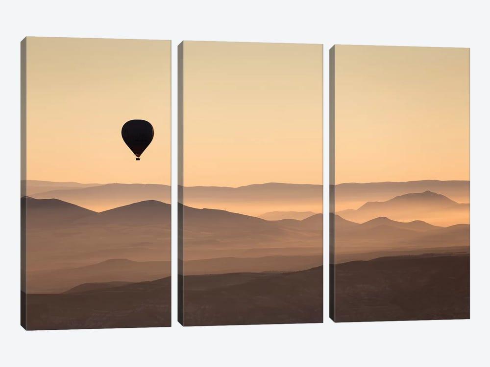 Cappadocia Balloon Ride XLII by David Clapp 3-piece Canvas Print
