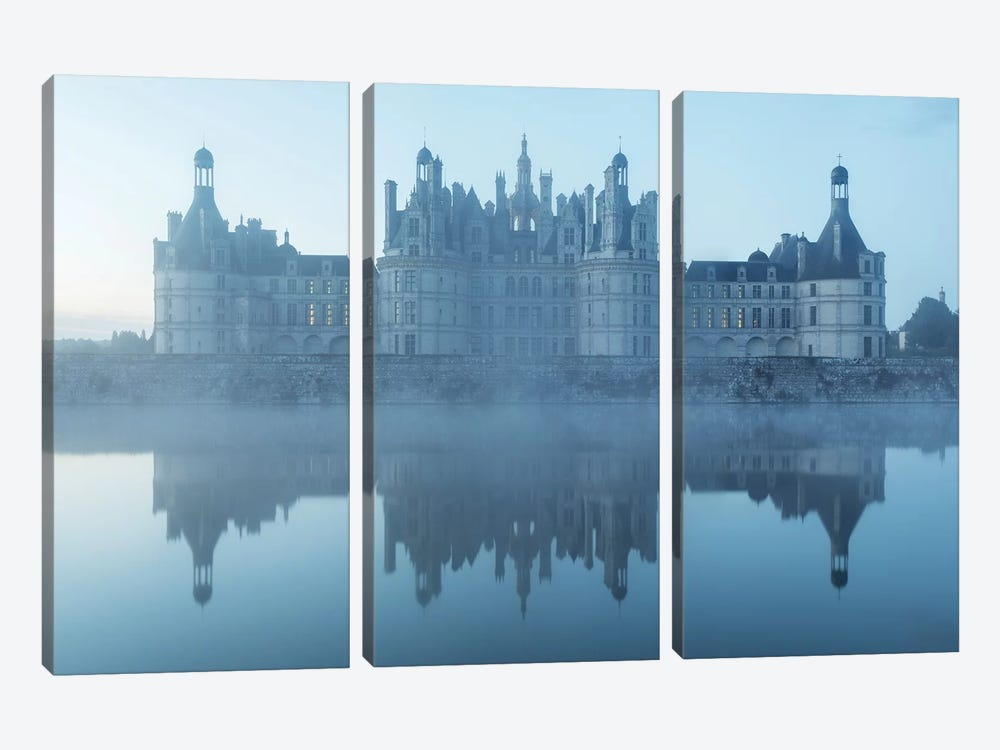 Chambord II by David Clapp 3-piece Canvas Artwork