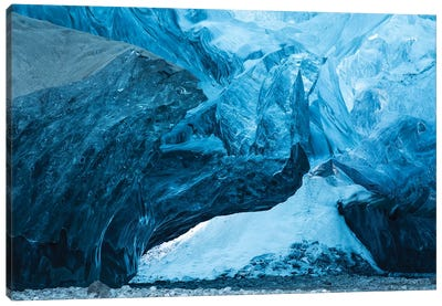 Iceland Ice Cave I Canvas Art Print