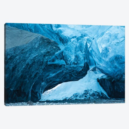 Iceland Ice Cave I Canvas Print #DCL22} by David Clapp Photography Limited Canvas Art Print