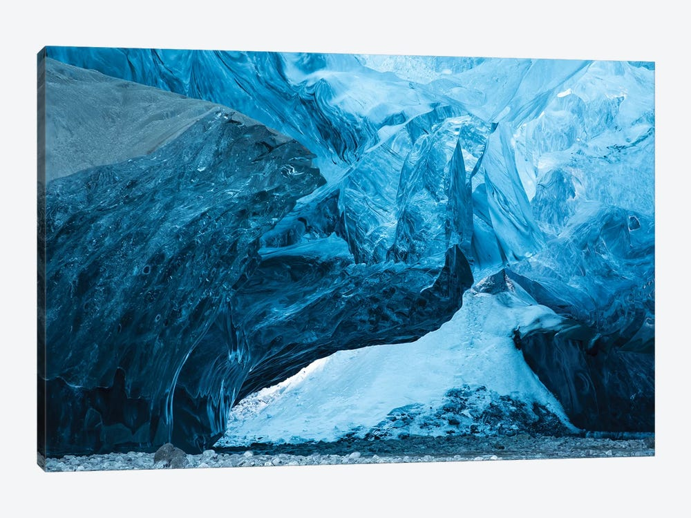 Iceland Ice Cave I by David Clapp 1-piece Canvas Print