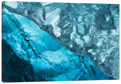 Iceland Ice Cave II Canvas Art Print