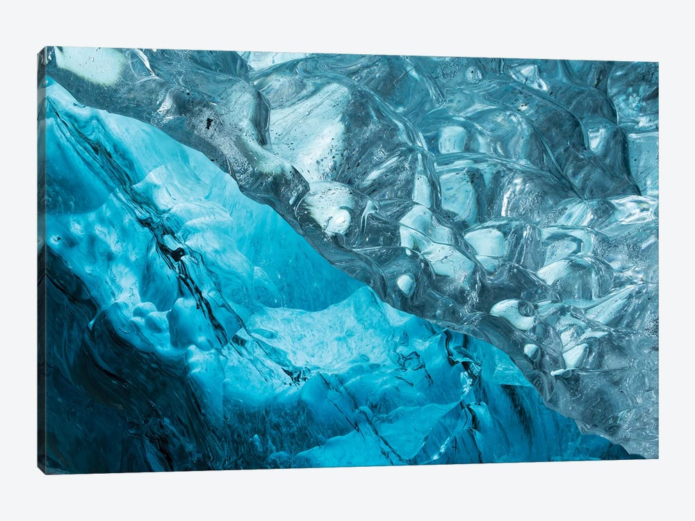 Iceland Ice Cave II by David Clapp Photography Limited 1-piece Canvas Artwork
