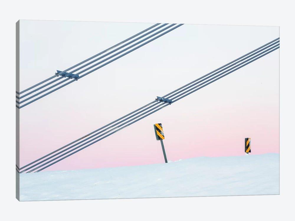 Iceland Jökulsárlón XXXIX by David Clapp 1-piece Canvas Print