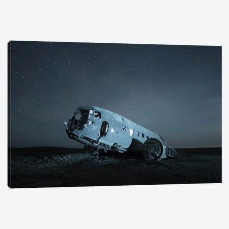 Iceland Skógafoss IV Canvas Print #DCL25} by David Clapp Canvas Wall Art