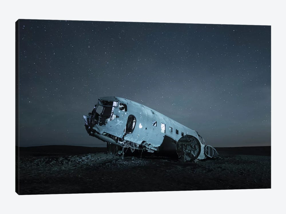 Iceland Skógafoss IV by David Clapp 1-piece Canvas Art