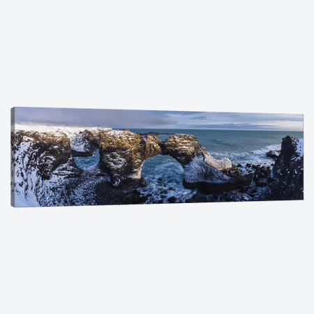 Iceland Snaefellsnes Arnastapi VIII Canvas Print #DCL26} by David Clapp Photography Limited Canvas Artwork