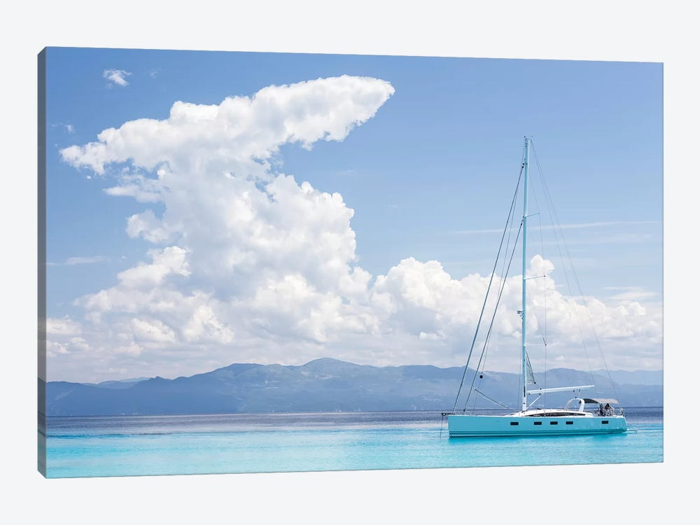 Argentous Corfu XVIII by David Clapp Photography Limited 1-piece Canvas Print