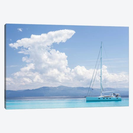 Argentous Corfu XVIII 3-Piece Canvas #DCL2} by David Clapp Canvas Print