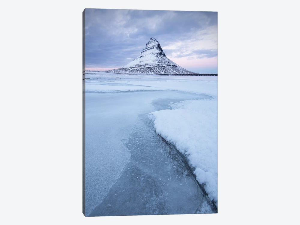 Iceland Snaefellsnes Kirkjufell VII by David Clapp Photography Limited 1-piece Canvas Artwork
