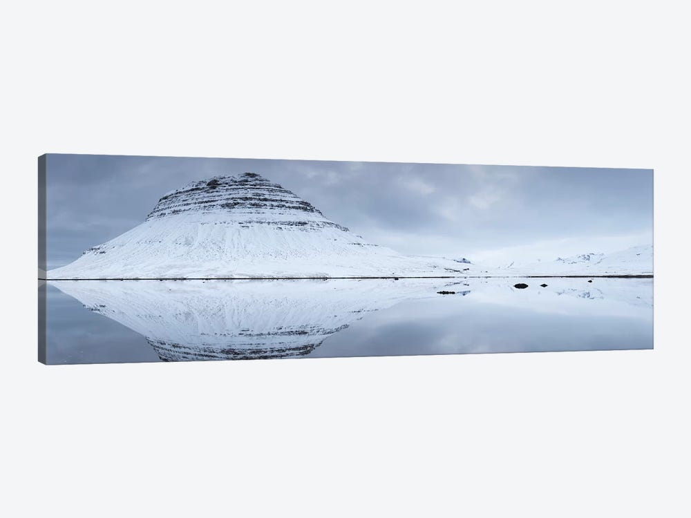 Iceland Snaefellsnes Kirkjufell XXV by David Clapp Photography Limited 1-piece Canvas Art Print