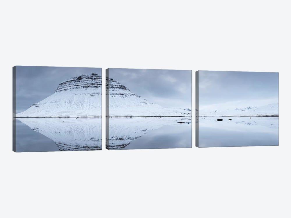 Iceland Snaefellsnes Kirkjufell XXV by David Clapp 3-piece Canvas Print