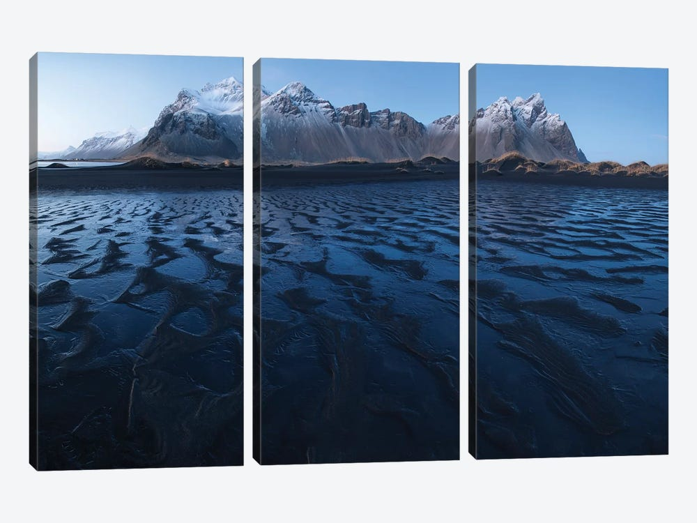 Iceland Stoksnes I by David Clapp Photography Limited 3-piece Canvas Artwork
