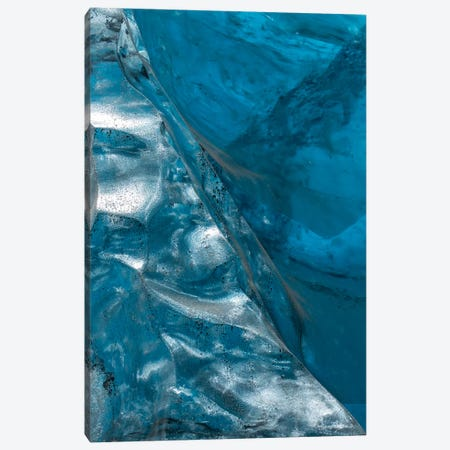 Iceland Vatnajökull Caves VIII Canvas Print #DCL33} by David Clapp Photography Limited Canvas Wall Art
