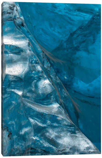 Iceland Vatnajökull Caves VIII Canvas Art Print